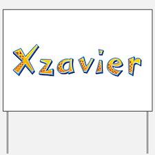 Xzavier Giraffe Yard Sign