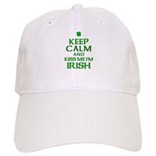 Keep Calm Irish Baseball Cap