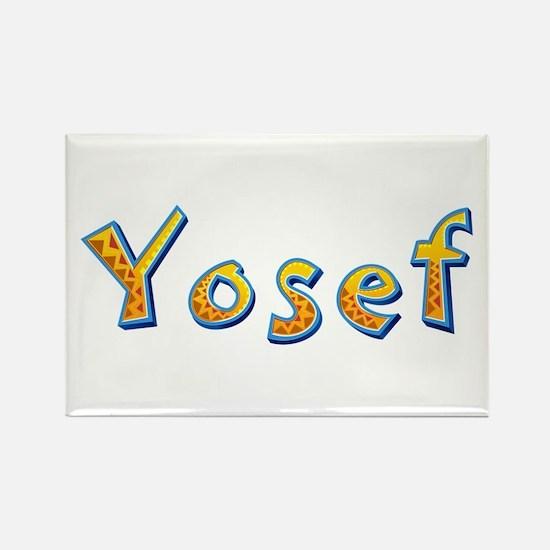 Yosef Giraffe Rectangle Magnet