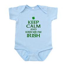 Keep Calm Irish Infant Bodysuit