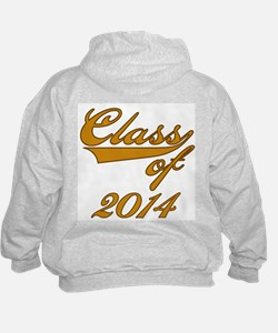 Gold Class of 2016 Hoodie
