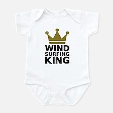 Windsurfing King Infant Bodysuit