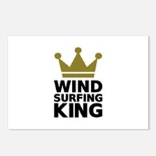 Windsurfing King Postcards (Package of 8)