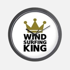 Windsurfing King Wall Clock