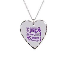 Chiari Malformation Hope Word Necklace