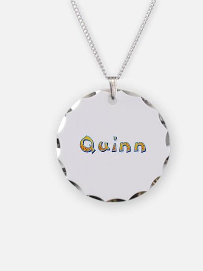 Quinn Giraffe Necklace Circle Charm