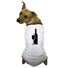 Wine Glass Dog T-Shirt
