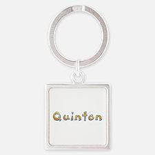 Quinton Giraffe Square Keychain