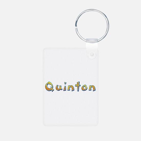Quinton Giraffe Aluminum Keychain