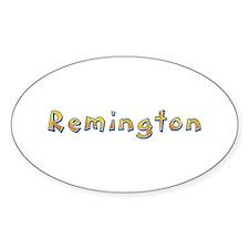 Remington Giraffe Oval Decal