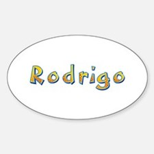 Rodrigo Giraffe Oval Decal