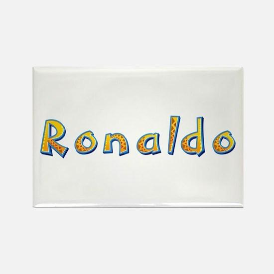 Ronaldo Giraffe Rectangle Magnet