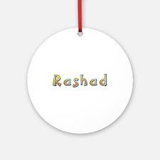Rashad Giraffe Round Ornament