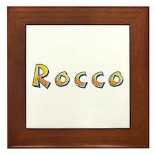 Rocco Giraffe Framed Tile
