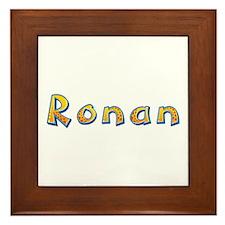 Ronan Giraffe Framed Tile