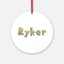 Ryker Giraffe Round Ornament