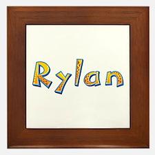 Rylan Giraffe Framed Tile