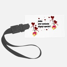 Make your someone special - Hear Luggage Tag