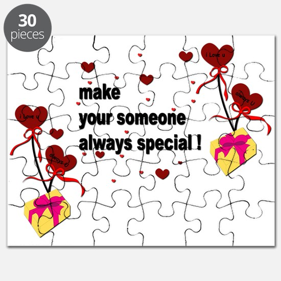 Make your someone special - Hearts Puzzle