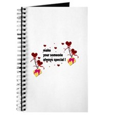 Make your someone special - Hearts Journal