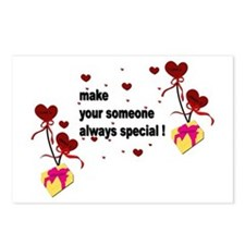 Make your someone special Postcards (Package of 8)