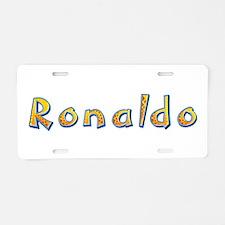 Ronaldo Giraffe Aluminum License Plate