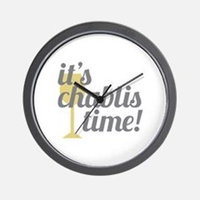 Chablis Time Wall Clock