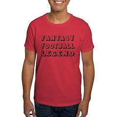 FANTASY FOOTBALL LEGEND -Dark T -$5 off