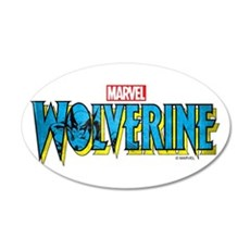 Wolverine Logo Wall Decal