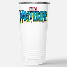 Wolverine Logo Stainless Steel Travel Mug