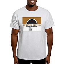 Dwarven Delving 1 Ash Grey T-Shirt