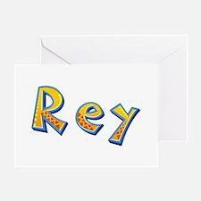 Rey Giraffe Greeting Card