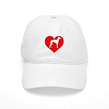 Love Heart Italian Greyhound Baseball Baseball Cap