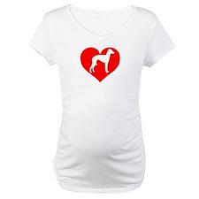 Love Heart Italian Greyhound Shirt