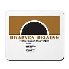 Dwarven Delving 1 Mousepad