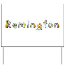 Remington Giraffe Yard Sign