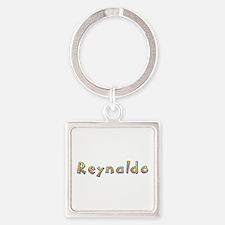 Reynaldo Giraffe Square Keychain
