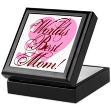 Mother's Day Worlds Best Mom Keepsake Box