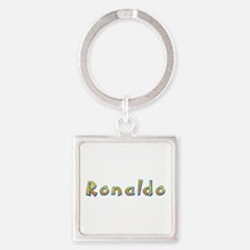 Ronaldo Giraffe Square Keychain