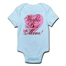 Mother's Day Worlds Best Mom Infant Bodysuit