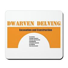 Dwarven Delving 2 Mousepad