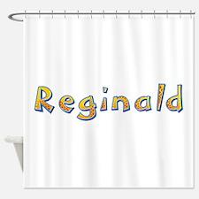 Reginald Giraffe Shower Curtain