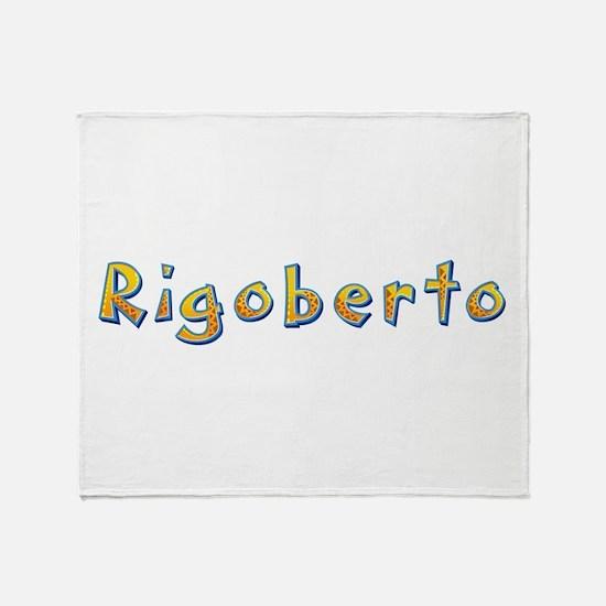 Rigoberto Giraffe Throw Blanket