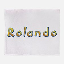 Rolando Giraffe Throw Blanket