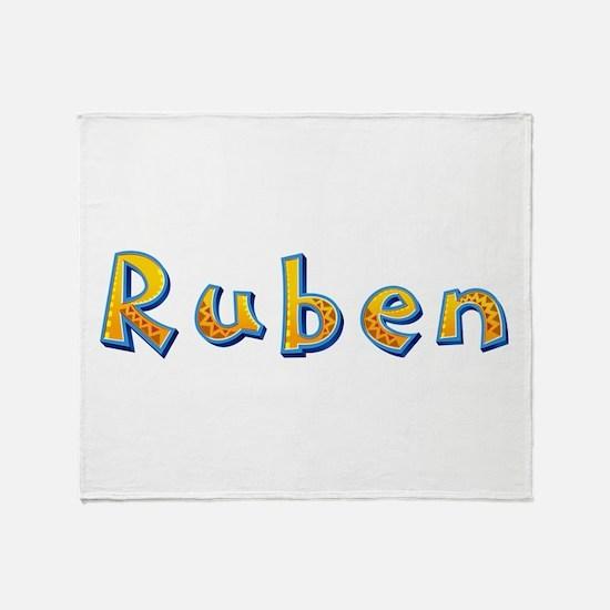 Ruben Giraffe Throw Blanket