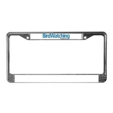 BirdWatching License Plate Frame