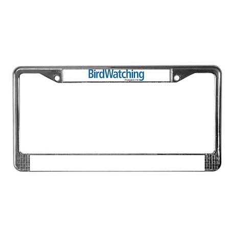 BirdWatching License Plate Frame