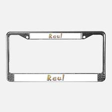 Raul Giraffe License Plate Frame