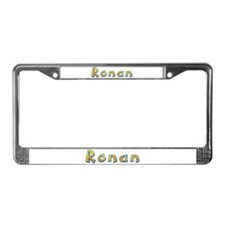 Ronan Giraffe License Plate Frame