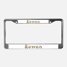 Rowan Giraffe License Plate Frame